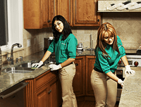 House Cleaners at Work
